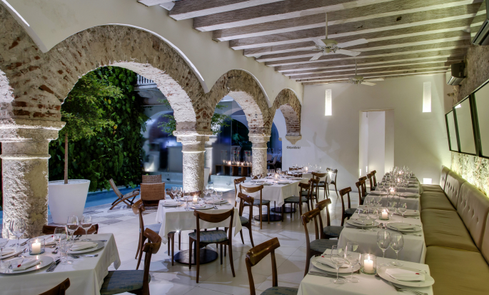 Restaurante The Mansion
