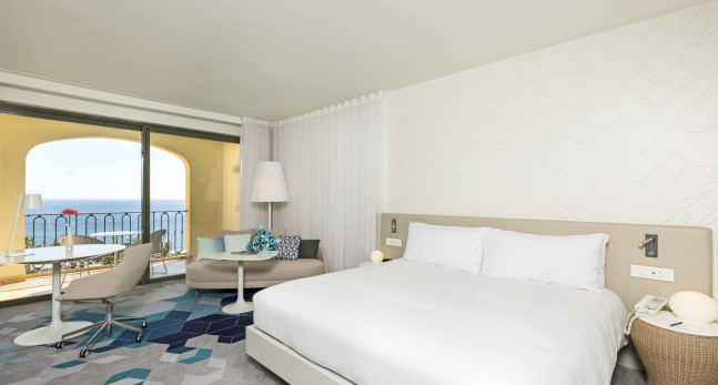 Executive suite, 1 king bed, balcony sea view