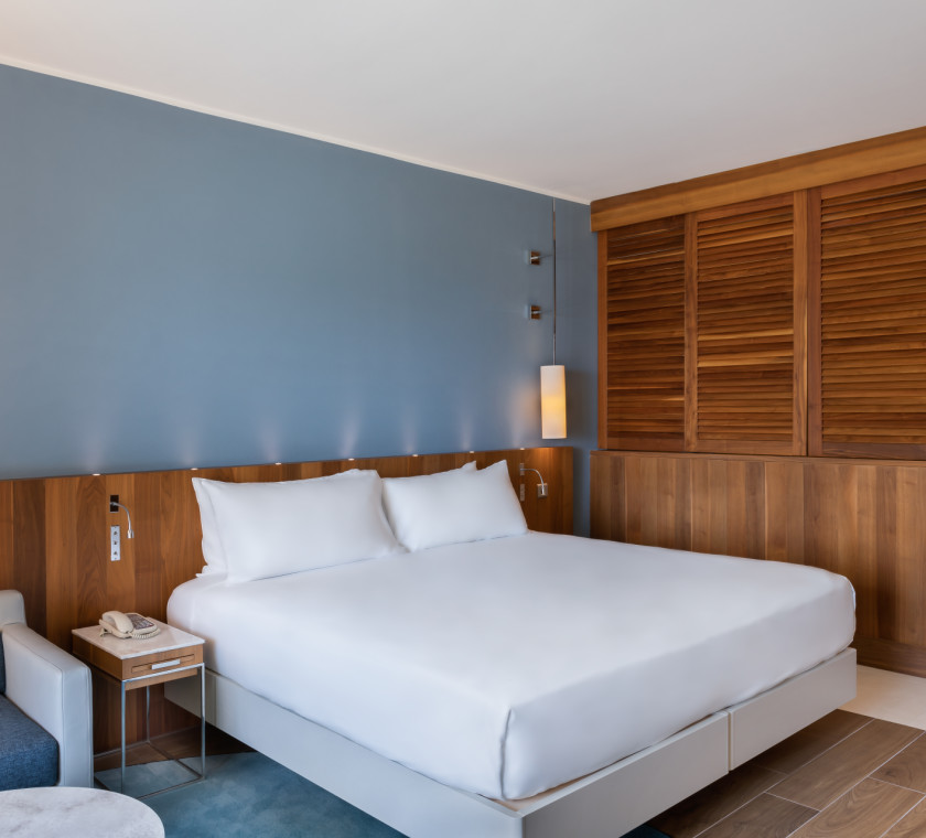 guest suite bedroom, 1 king bed