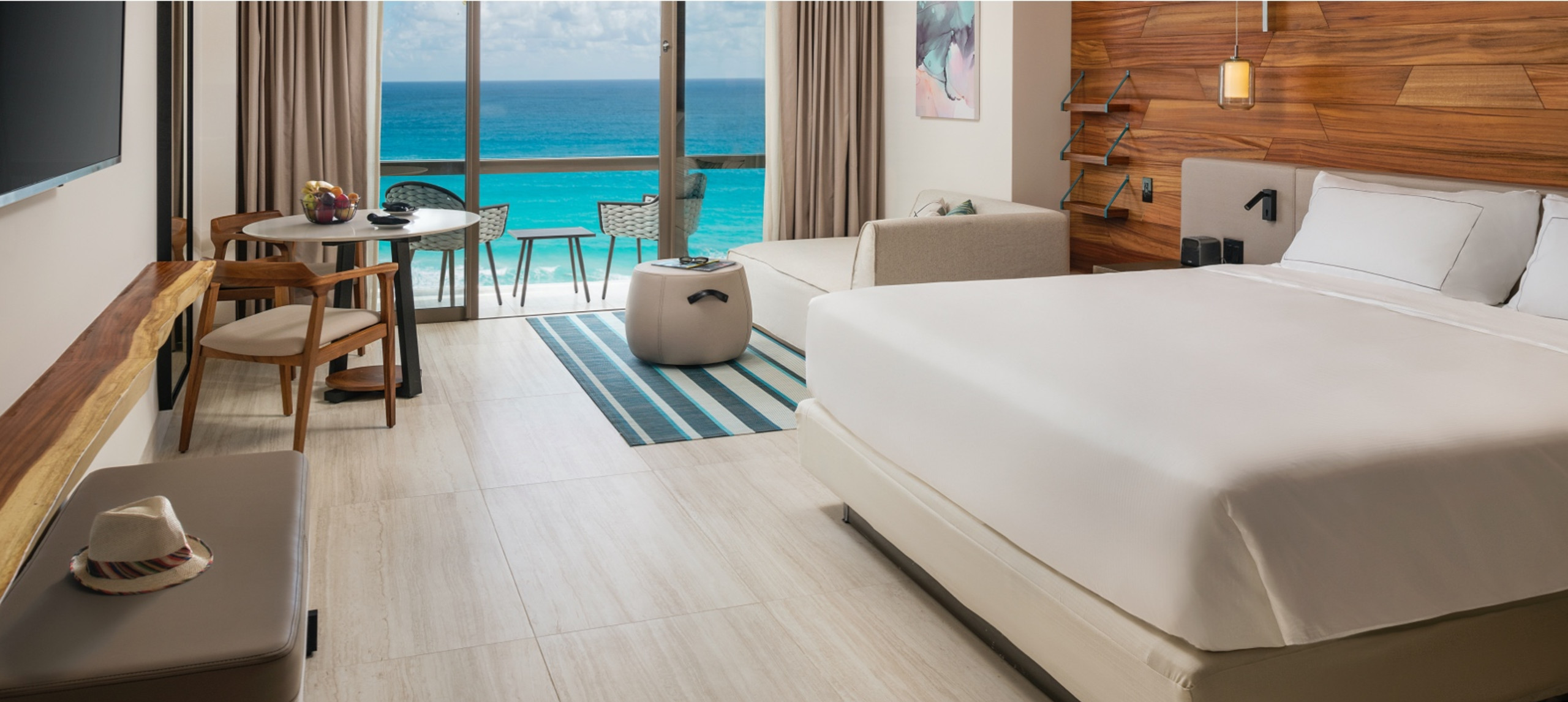 Room with oceanfront view