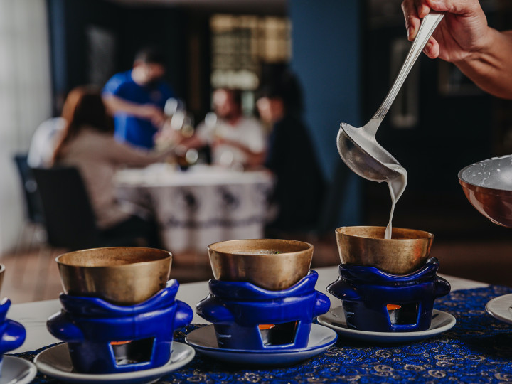 Blue Elephane private dining hot beverages