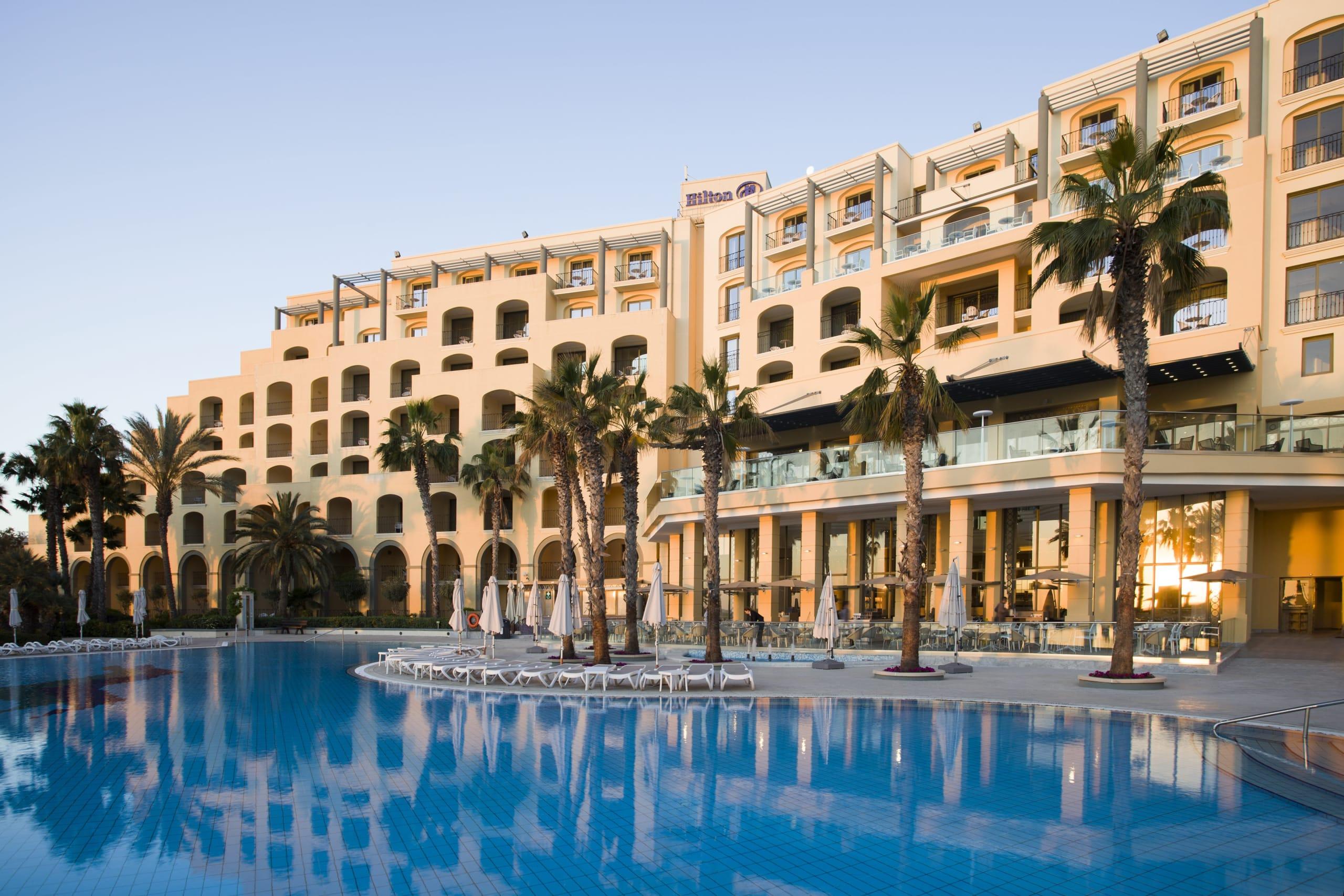 Hilton Malta hotel exterior